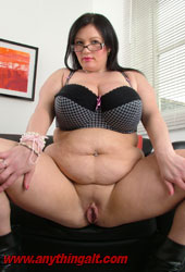 Bbw Full Of Cum